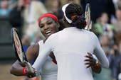 北京时间8月5日凌晨,2012年伦敦奥运会网球赛结束了一场女双半决赛的争夺,温网冠军威廉姆斯姐妹遭遇...