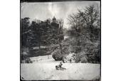 风光摄影:雪降巴黎