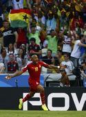 进球回放:加纳复制德国队 安德烈阿尤头球建功