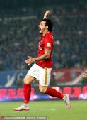 高清图:恒大1-0客胜舜天 高拉特献绝杀疯狂庆祝
