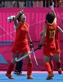 高清图:女子曲棍球小组赛 中国VS韩国首战告捷