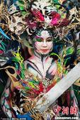 当地时间2013年8月31日,韩国大邱,国际人体彩绘节开幕。参赛选手分别来自韩国,中国,日本,美国。...