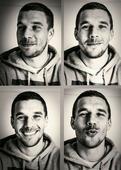 世界杯男模波多尔斯基:360度无死角 三笑倾心