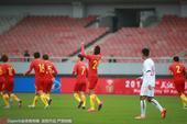 高清:中国国奥1-1越南 刘奕鸣染红王靖斌破门