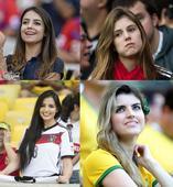 高清图:盘点世界杯小清新美女 阳光笑容融化你