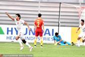 高清:U19国青战塔吉克斯坦 对手进球小将落寞