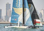 高清:极限帆船系列赛青岛站 冠军船队展现实力