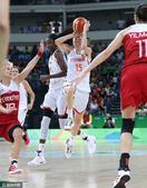 高清图:女篮西班牙绝杀土耳其 克鲁斯骑马射箭