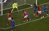 进球回放:瓦伦西亚头球破门 厄瓜多尔率先得分