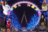 绝美在伦敦:伦敦范姐妹花 奥运宝贝助威秀奇葩