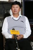 独家图:搜狐体育专访蒋宏伟 从容点评中国网球