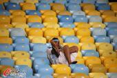 高清图:阿根廷球迷不说再见 下届世界杯再雄飞