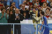 阿根廷众将失落不已 梅西失金杯阿奎罗飙泪(图)