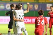 高清:富力6-2延边 扎哈维破门拥抱队友庆祝