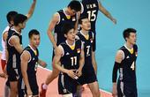 高清:中国男排不敌韩国无缘奖牌 队员满脸失望