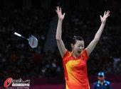 高清:女单中国德比战 李雪芮兴奋扔拍庆祝夺冠