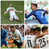 27日早报:格刀4分钟2球救法国 德国比利时大胜