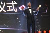高清:马布里获电影节新人奖 激动发表获奖感言