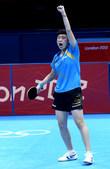 独家图:乒乓球女单铜牌角逐赛 冯天薇笑到最后