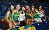 高清:男篮世界杯女粉丝比拼 菲律宾球迷气质佳