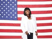 美国百米女飞人杰特尔写真出炉,形象阳光笑容灿烂。 美国田径运动员卡尔梅利塔・杰特尔,是目前世界上...