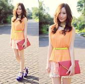 炎热的夏天,想要穿得简单又抢眼,显瘦又清凉,糖果色肯定是首选,轻轻柔柔的薄荷绿,素雅温柔的粉橙色,甜...