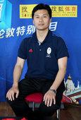 独家图:戴利中国教练员李鹏做客搜狐 开心畅谈