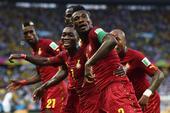 进球回放:吉安单刀爆射破门 加纳队2比1反超