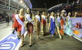 高清:环球小姐助阵F1新加坡站 您最中意哪位?