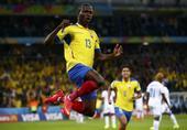 进球回放:瓦伦西亚推射破门 厄瓜多尔闪电扳平