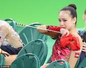 艺术体操个人全能无缘奖牌 孙妍在泪眼婆娑(图)