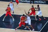 北京时间8月7日,2012年伦敦奥运会继续第10日角逐,在奥林匹克篮球馆进行的B组末轮争夺中,中国男...
