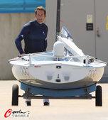 北京时间2012年7月26日,2012年伦敦奥运会,英国赛艇队训练备战。