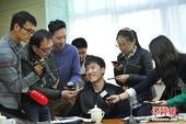 高清图:政协体育界别分组讨论 姚明刘翔遭围攻