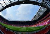 高清图:老特拉福德球场迎奥运球赛 乌拉圭胜利