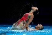 高清:美国游泳选拔赛闭幕 上演精彩花样游泳秀