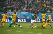 进球回放:佩拉尔塔补射入网 墨西哥队先下一城