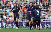 高清:女足半决赛日本VS法国 日本连进两球兴奋