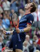 北京时间2012年8月1日,2012年伦敦奥运会网球单打1/8决赛,巴格达蒂斯1:2负穆雷。更多奥运...