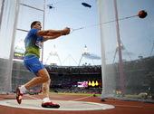 北京时间8月5日,奥运会男子链球比赛赛况。更多奥运视频>> 更多奥运图片>>