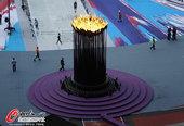北京时间2012年8月13日,2012年伦敦奥运会,伦敦碗静候闭幕式。更多奥运视频>> 更多奥运图片...