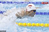 高清图:奥运男子100米蝶泳决赛 李朱濠位列第5