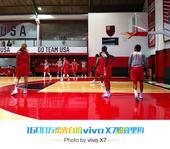 前方图:直击美国女篮训练课 奥运霸主认真备战