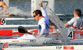 北京时间2012年8月11日,2012年伦敦奥运会男子单人皮艇(K1)200米决赛,周玉波列第16 ...