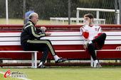 高清图:西班牙恢复训练 卡西沮丧与博斯克谈心