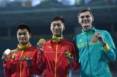 高清图:男子20公里竞走 王镇夺冠蔡泽林摘银