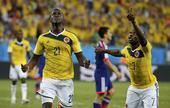 进球回放:马丁内斯梅开二度 哥伦比亚锁定胜局