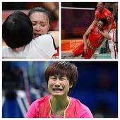 组图:激动时刻! 盘点中国代表团那些动人泪水