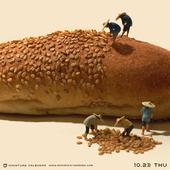 2011年起,日本艺术家田中达也(Tatsuya Tanaka)创造了一系列创意微观布景。坚持每日一...