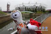 北京时间7月13日,搜狐前方记者独家探访2012伦敦奥运会主体育场伦敦碗及附近场馆群。(摄影/搜狐体...